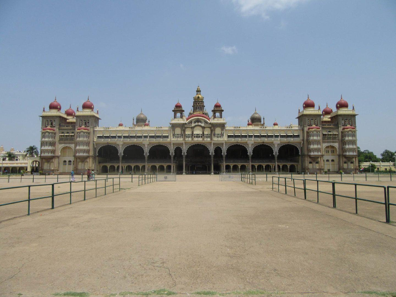Der Maharaja-Palast in Mysore. Bekannt in ganz Indien.