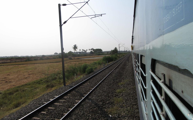 Zugfahren in Indien macht Spaß - und ist billig